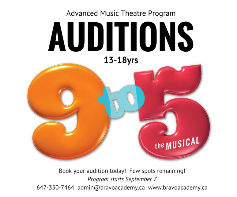 9 to 5 Audition Posting