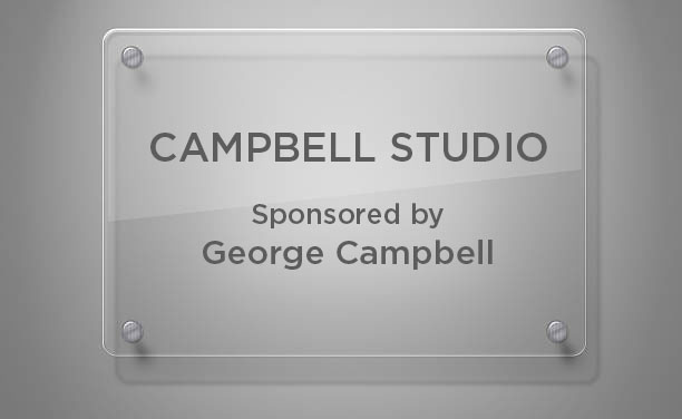 Campbell Studio Plaque